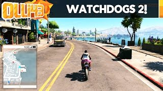 Watch Dogs 2 Gameplay : Exploring the Map Free Roam!