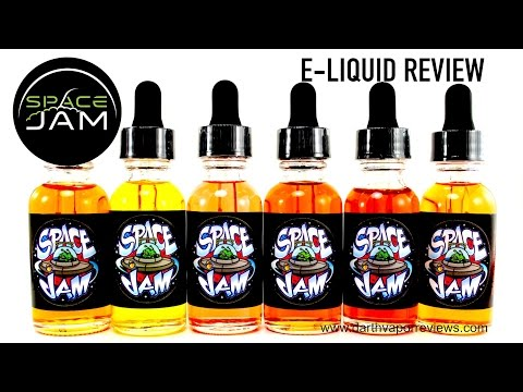 Space Jam Juice: Entire Line Review