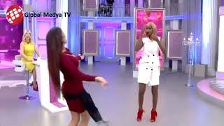 Evleneceksen Gel - Solmaz'ın göbek dansına, Tanzanyalı Friah twerk dansıyla cevap verdi.