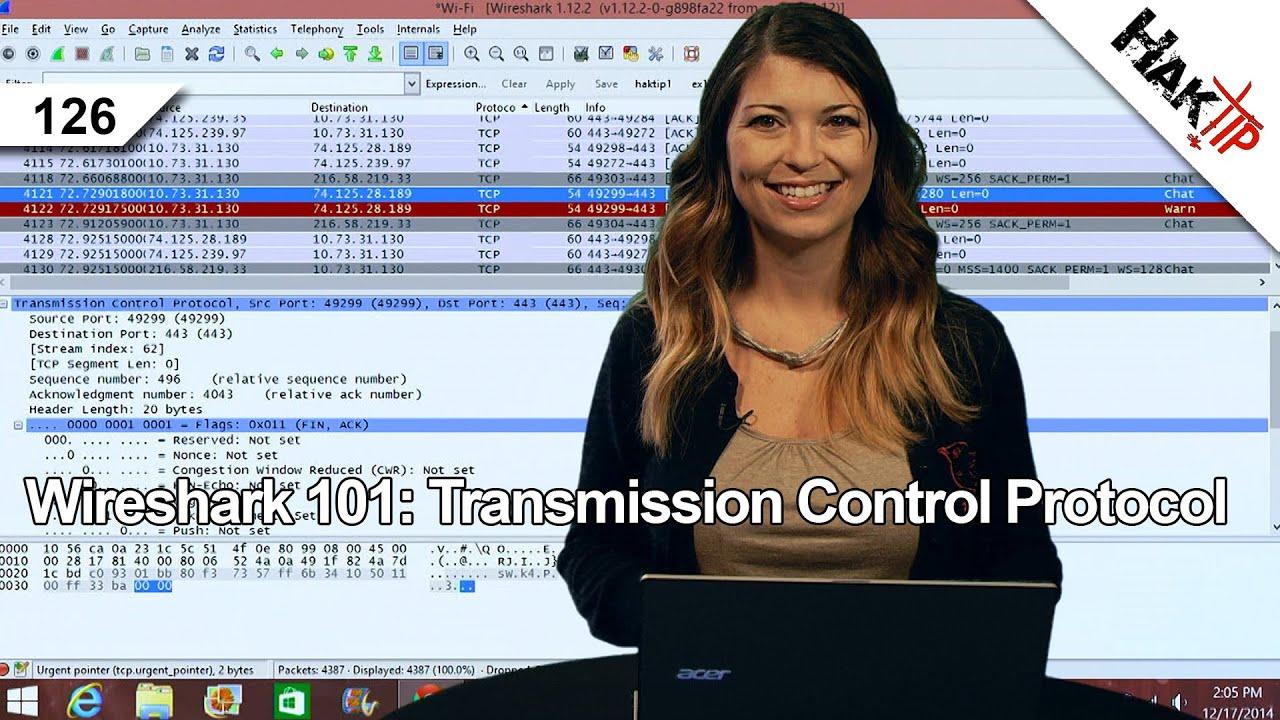 Wireshark 101: Transmission Control Protocol, HakTip 126