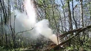 как ракетный двигатель  стал бураком)
