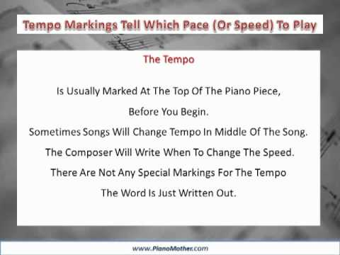 Music Terms Music Symbols And Meaning Youtube