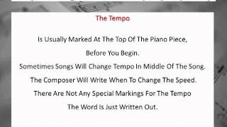 Music Terms, Music Symbols and Meaning