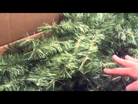 Holiday Time Christmas Tree | Pt 1 - YouTube