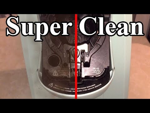 How to SUPER CLEAN your Keurig