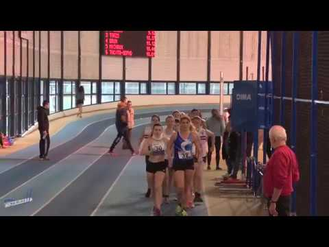 3000m – Finale B – SEF – Championnat Regionaux 21/01/2018 – Eaubonne