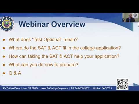 The SAT & ACT Should Still be Part of your College Application Preparation