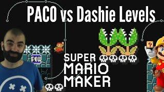 DOPE DASHIE LEVELS | PACO vs Dashie Levels by Simon | Mario Maker Super Expert Levels