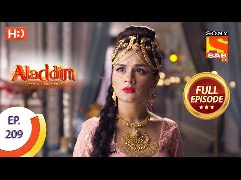 Aladdin - Ep 209 - Full Episode - 4th June, 2019
