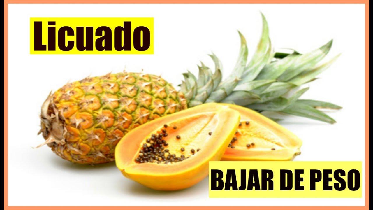 Jugo de papaya con chia para adelgazar
