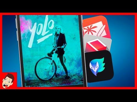 ТОП 5 приложений для КРУТЕЙШИХ фото на iPhone и iPad
