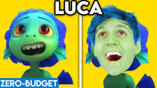 LUCA WITH ZERO BUDGET! (ft. LUCA, ALBERTO, SEA MONSTER!) *FUNNY LUCA PARODY BY LANKYBOX!*