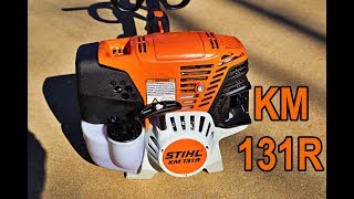 sTIHL KM 131R Review