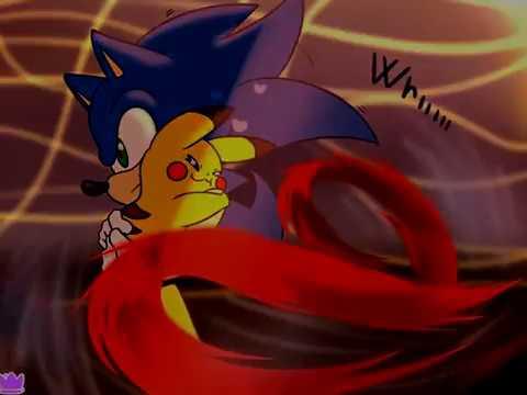 Sonic Y Pikachu Final Feliz Fandub Latino Youtube