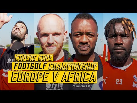 CPFC Footgolf Championship | Europe v Africa | Milivojevic, Ayew, Souare and Williams