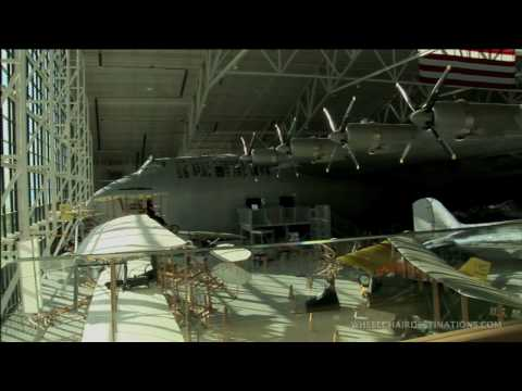 Wheelchair Destinations Tour of Evergreen Aviation Museum