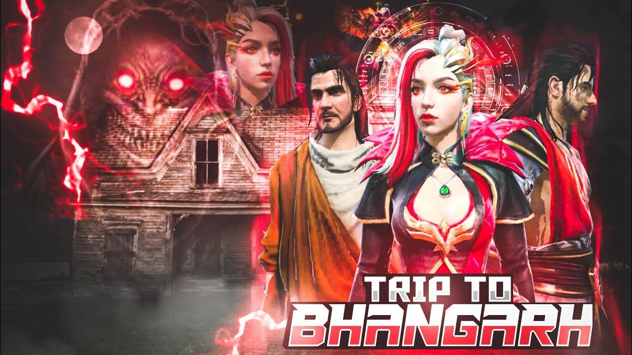 Trip To Bhangarh [भानगढ़] Free Fire Short Horror Story    Free Fire Story