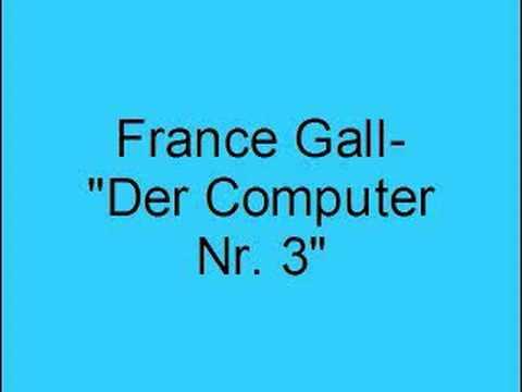 France Gall- Der Computer Nr. 3