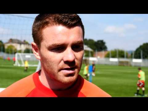 John Fleck on Bramall Lane crowd