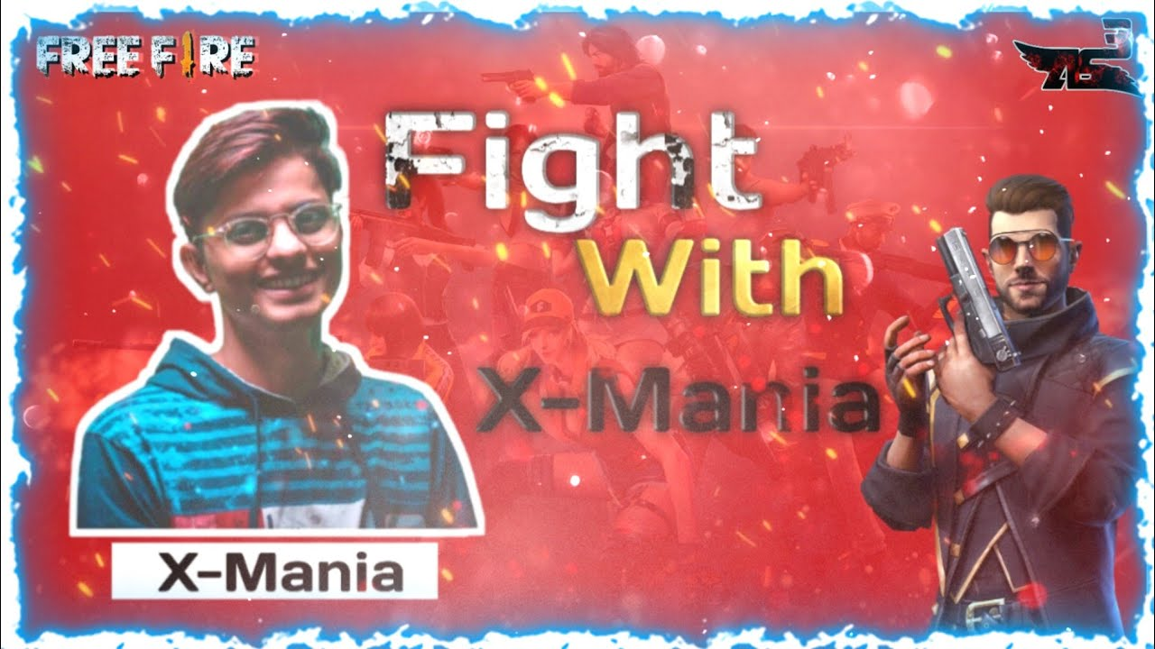 INTENSE Fight with X Mania || Who will win? Mediatak Free Fire Gaming Master-solo || AS3 GAMING ||