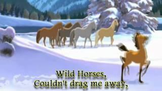 The Rolling Stones Wild Horse [ HD ] Karaoke