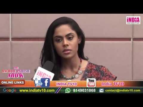 Karthika Nair   Aarambh tv Show   The Anchor Paresh Show