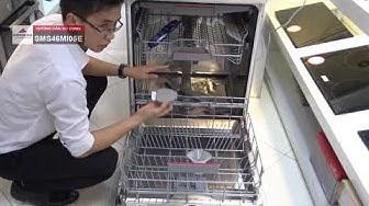 Hướng dẫn sử dụng máy rửa bát Bosch SMS46MI05E - Made in Germany