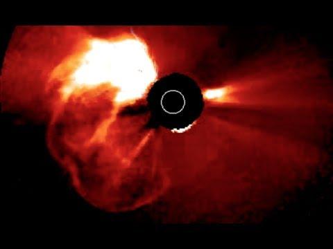 Solar Killshot Erupts... at Mars | S0 News July.23.2017