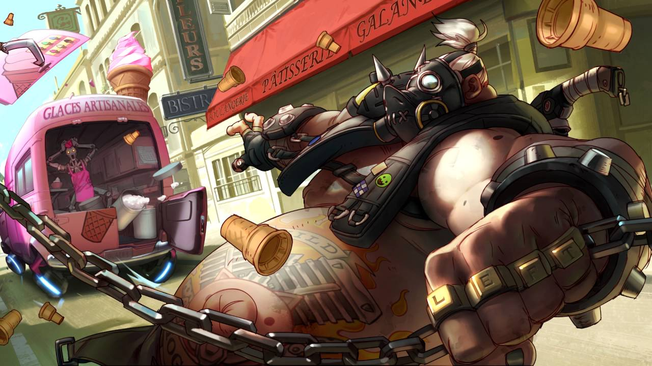 Tank Girl Wallpaper Art Overwatch Roadhog Ultimate Sound Quot Yeah Cough