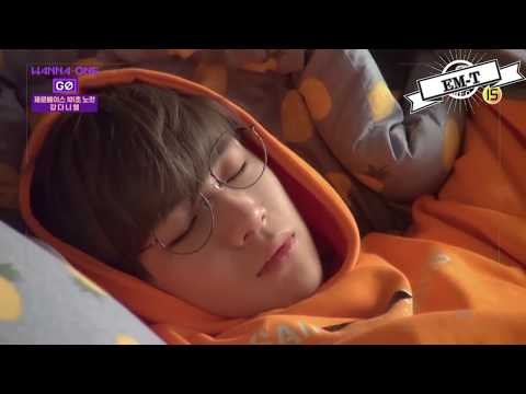 Free Download [em-t] Wanna One - Sleep And Wake Up Moments Mp3 dan Mp4