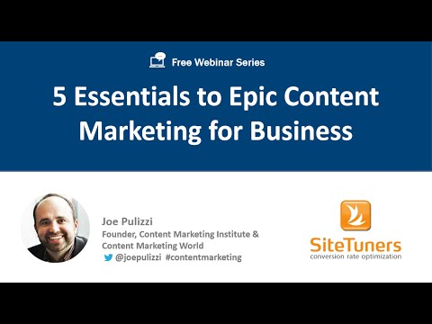 5 Essentials of Epic Content Marketing for Business