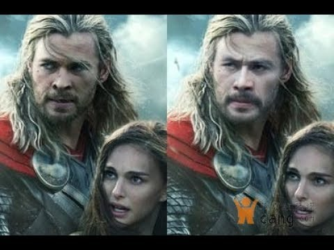 (AI换脸之海王、雷神徐锦江)face change by AI between Chris Hemsworth 、Jason Momoa and Jin jiang Xu