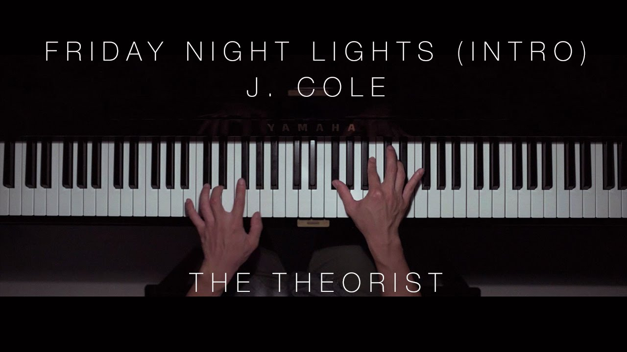 J cole friday night lights the theorist piano cover youtube j cole friday night lights the theorist piano cover aloadofball Image collections