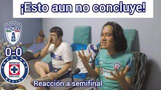 ¡Esto aún no concluye!/Cruz Azul vs Pachuca ida semifinales/reacción desde casa