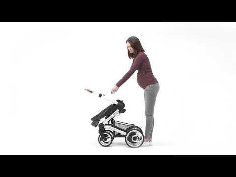 Mutsy Промо пакет Шаси Mutsy Nio Dark Grey+ Кош за новородено и Седалка и сенник Mutsy Nio Inspire Light Shade #iX63-9X0vRQ
