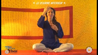 Présentation vidéo : SOURIRE INTERIEUR : 1) LES 3 TRESORS ET LES 5 ELEMENTS / 2) LA RIVIERE CELESTE