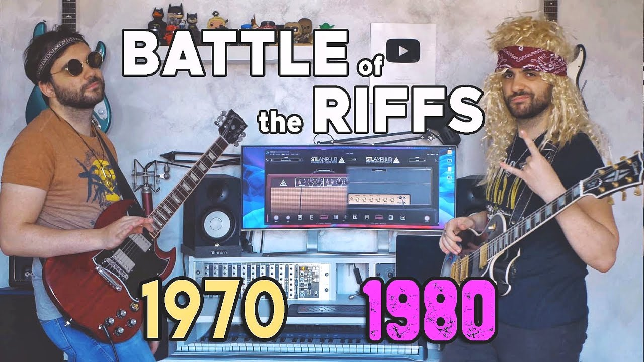 Battle Of The RIFFS:  70'S vs 80'S || STL Amphub