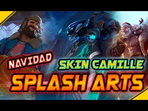 Nuevos Splash Art: CAMILLE PROGRAMA - GRAVES y BRAUM Día Nevado | Noticias League Of Legends LoL
