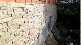 Фасадные работы (Цоколь) часть 3(Цоколь с термопонелей с 50мм пенопласта. Рисунок песчаник., 2017-01-23T10:00:07.000Z)