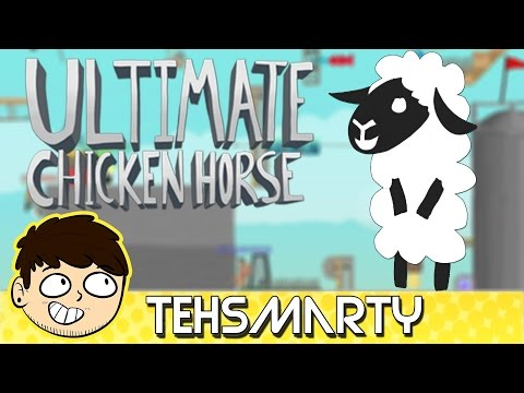 A Simple Barn, An Awful Time (Ultimate Chicken Horse)