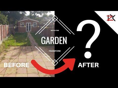 Garden Transformation | 6 DAYS IN 6 MINUTES | Garden Ideas | Landscaping
