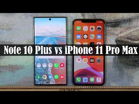 Galaxy Note 10 Plus Vs IPhone 11 Pro Max - Which Phone Is Better?
