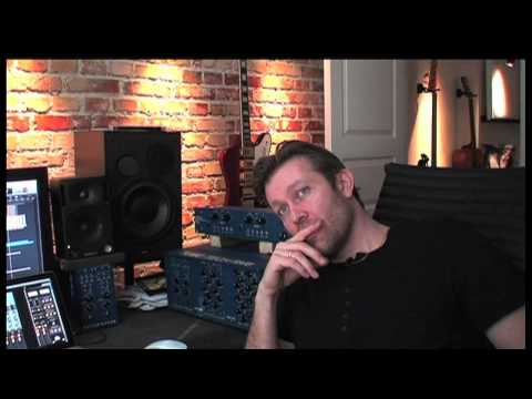 Processing a track by rerecording with TUBE-TECH Hardware or using Plug-ins.