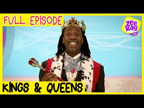 Let's Play: Kings & Queens | FULL EPISODE | ZeeKay Junior