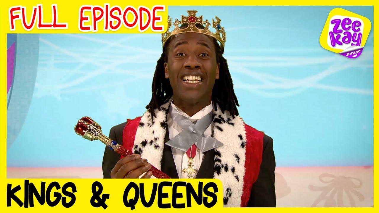 Let's Play: Kings & Queens | FULL EPISODE | ZeeKay Junior