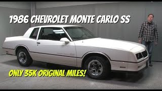 1986 Chevrolet Monte Carlo SS - Video Test Drive with Chris Moran - Midwest Auto Collection