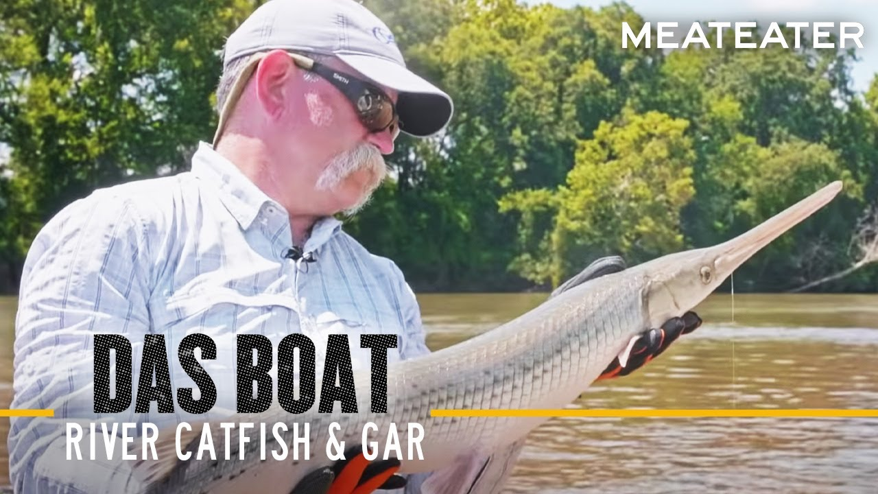 Das Boat Episode 6: Frank and Rob Are Back on the Savannah River Huntin' Catfish and Gar