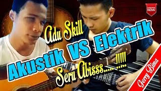 Skill Dewa Akustikan Tunanetra vs Gitar Elektrik - Zaman pembaharuan (Cover)