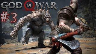 God of war 4 (бог войны). Босс Огр. Босс Каменный древний | Топ слэшер. Игры про богов