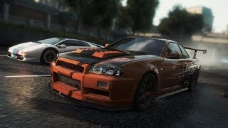 Need For Speed Most Wanted 2012 | Part 28 | Nissan Skyline GT-R R34